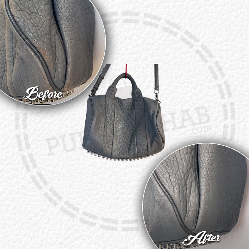 Purse Rehab | Worn Gray Alexander Wang
